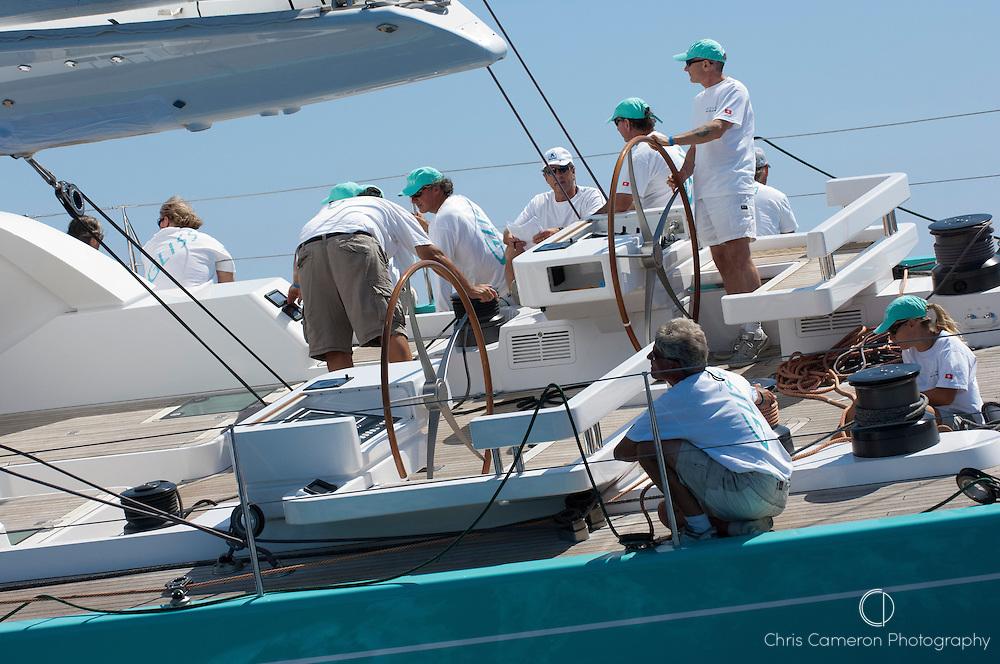 Gliss, Race 0ne, The Horus Super Yacht Cup Palma 2009, 25/6/2009