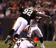 NFL Browns v Broncos 11-6-08