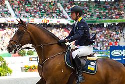 Cassio Rivetti, (UKR), Vivant - World Champions, - Second Round Team Competition - Alltech FEI World Equestrian Games™ 2014 - Normandy, France.<br /> © Hippo Foto Team - Leanjo De Koster<br /> 25/06/14