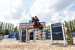 TOPS-ALEXANDER Edwina (AUS), California<br /> Berlin - Global Jumping Berlin 2018<br /> Longines Global Champions Tour<br /> Grand Prix of Berlin presented by Sapinda<br /> 28. Juli 2018<br /> © www.sportfotos-lafrentz.de/Stefan Lafrentz