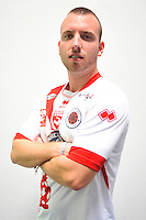 Guillaume JOUBERJEAN - 16.09.2014 - Photo officielle Nimes - Ligue 2 2014/2015<br /> Photo : Icon Sport