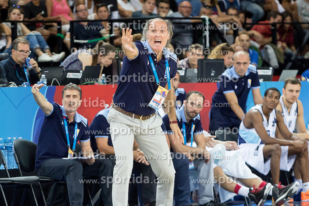 06.09.2015, Park Suites Arena, Montpellier, FRA, Bosnien und Herzegowina vs Frankreich, Gruppe A, im Bild DUSKO IVANOVIC // during the FIBA Eurobasket 2015, group A match between Bosnia an Herzegowina and France at the Park Suites Arena in Montpellier, France on 2015/09/06. EXPA Pictures &copy; 2015, PhotoCredit: EXPA/ Newspix/ Pawel Pietranik<br /> <br /> *****ATTENTION - for AUT, SLO, CRO, SRB, BIH, MAZ, TUR, SUI, SWE only*****