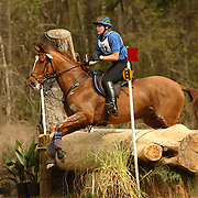 Dorothy Crowell (USA) and Radio Flyer at the 2007 Red Hills Horse Trials in Tallahassee, Florida