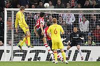 Foto Omega/GPA<br /> Eindhoven 03/04/2007<br /> Champions League 2006-2007<br /> Psv Eindhoven-Liverpool 0-3<br /> Nella foto il gol di Peter Crouch