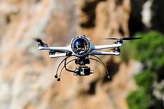 Northland-Photographic drone flies around Poor Knights
