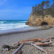 Hug Point Cave - Oregon Coast