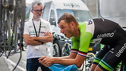 Lars Boom (NED) of Belkin Pro Cycling, Tour de France, Stage 20: Bergerac > Périgueux (ITT), UCI WorldTour, 2.UWT, Bergerac, France, 26th July 2014, Photo by Pim Nijland / PelotonPhotos.com