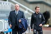 Newcastle United manager Rafael Benitez arrives ahead of the Premier League match between Newcastle United and Watford at St. James's Park, Newcastle, England on 3 November 2018.