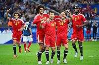 Joie Belgique  /  Eden HAZARD - 07.06.2015 - France  / Belgique - Match amical<br />Photo : Dave Winter / Icon Sport