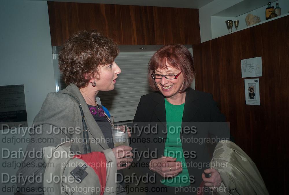 JULIA HOBSBAWN; PAM WARHURST, UnSeen Narratives, Ted Salon, Unicorn Theatre, Tooley St. London. 10 May 2012.