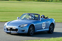 #23 Robin Grimwood Honda S2000 (Class 1D - Road going Series Production 2 & 4 Seater Sports Cars up to 2000cc)  during The Autumn Sprint at Aintree Motor Racing Circuit at Aintree Circuit, Liverpool, Merseyside, United Kingdom. September 05 2015. World Copyright Taylor/PSP. Copy of publication required for printed pictures.  Every used picture is fee-liable. http://archive.petertaylor-photographic.co.uk