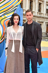 Jessica De Gouw and Oliver Jackson-Cohen at the Royal Academy of Arts Summer Exhibition Preview Party 2017, Burlington House, London England. 7 June 2017.