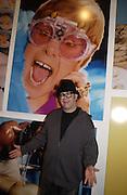 Sir Elton John. David la Chapelle VIP party. Barbican. 21 October 2002. © Copyright Photograph by Dafydd Jones 66 Stockwell Park Rd. London SW9 0DA Tel 020 7733 0108 www.dafjones.com