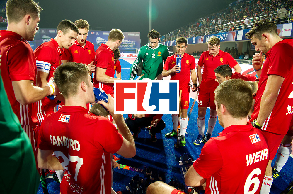 Odisha Men's Hockey World League Final Bhubaneswar 2017<br /> Match id:05<br /> 06 IND v ENG (Pool B)<br /> Foto: Russell Garcia (Eng) coaching.<br /> WORLDSPORTPICS COPYRIGHT FRANK UIJLENBROEK