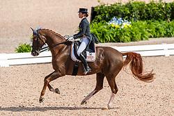 Ferrer-Salat Beatriz, ESP, Delgado<br /> World Equestrian Games - Tryon 2018<br /> © Hippo Foto - Dirk Caremans<br /> 12/09/18