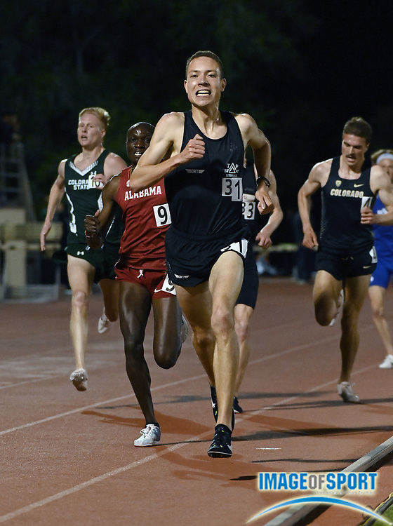 Apr 18, 2019; Azusa, CA, USA; Robin Hendrix places second in the 5,000m in 13:34.61 at the Bryan Clay Invitational at Azusa Pacific University.