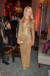 LADY VICTORIA HERVEY at the Tatle Magazine's Kings & Quens party held at Savini at Criterion, Piccadilly, London on 1st June 2016.
