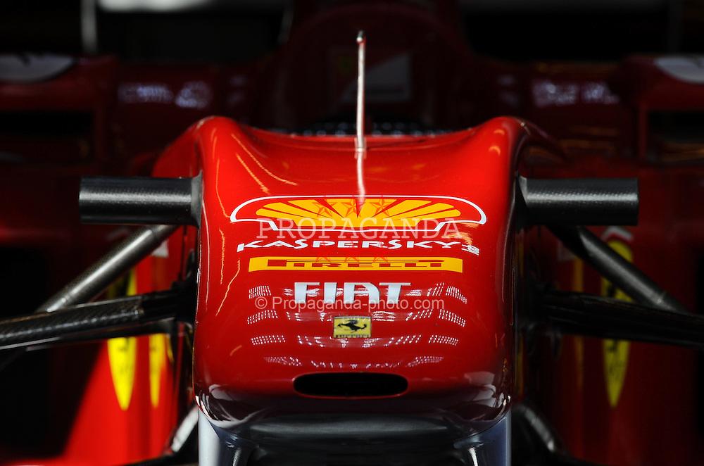 18.02.2011, Circuit de Catalunya, Barcelona, ESP, Formel 1 Test 3 2011,  im Bild Ferrari F150 EXPA Pictures © 2011, PhotoCredit: EXPA/ nph/  Dieter Mathis       ****** out of GER / SWE / CRO  / BEL ******