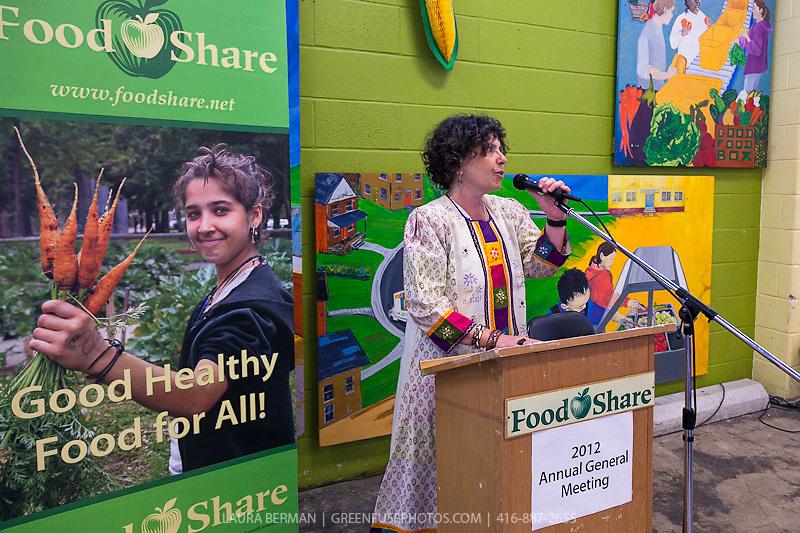 FoodShare Executive Director Debbie Field