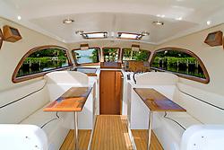 Rivolta coupe 4.0 yacht interior