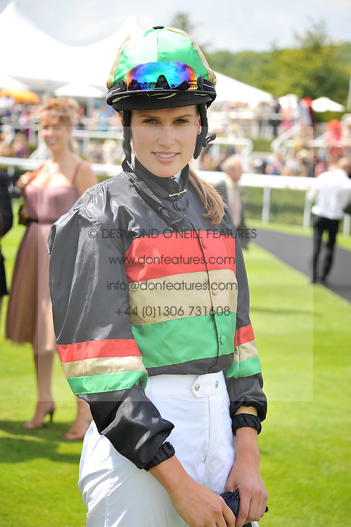 FRANCESCA CUMANI at the 3rd day of the 2011 Glorious Goodwood Racing Festival - Ladies Day at Goodwood Racecourse, West Sussex on 28th July 2011.