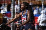 Amanda Ngandu-Ntumba (FRA) during the IAAF World U20 Championships 2018 at Tampere in Finland, Day 1, on July 10, 2018 - Photo Julien Crosnier / KMSP / ProSportsImages / DPPI