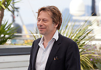 Directorat the  Mathieu Amalric Barbara film photo call at the 70th Cannes Film Festival Thursday 18 May 2017, Cannes, France. Photo credit: Doreen Kennedy