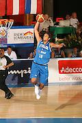 DESCRIZIONE : Bormio Torneo Internazionale Gianatti Italia Austria <br /> GIOCATORE : Marco Belinelli<br /> SQUADRA : Nazionale Italia Uomini <br /> EVENTO : Bormio Torneo Internazionale Gianatti <br /> GARA : Italia Austria <br /> DATA : 31/07/2007 <br /> CATEGORIA : Schiacciata<br /> SPORT : Pallacanestro <br /> AUTORE : Agenzia Ciamillo-Castoria/G.Cottini<br /> Galleria : Fip Nazionali 2007 <br /> Fotonotizia : Bormio Torneo Internazionale Gianatti Italia Austria<br /> Predefinita :