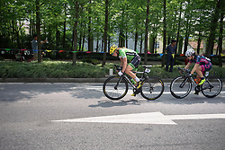 Erica Zaveta setting the pace - Tour of Chongming Island 2016 - Stage 1. A 139.8km road race on Chongming Island, China on May 6th 2016.