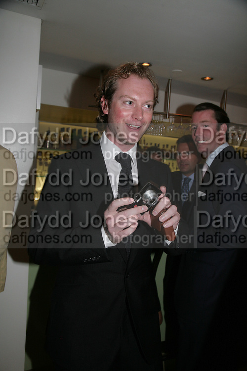 Maximillion Cooper , The Eve Appeal Dinner, Nobu London,  Dinner in aid of Eve Appeal, Gynaecology Cancer Research Fund, 3 September 2007. -DO NOT ARCHIVE-© Copyright Photograph by Dafydd Jones. 248 Clapham Rd. London SW9 0PZ. Tel 0207 820 0771. www.dafjones.com.