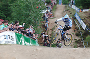 UCI World Cup DHi and 4X, Fort William, Scotland. May 2010