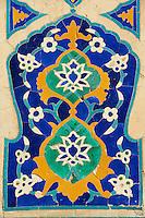 Ouzbékistan, Samarcande, classé Patrimoine Mondial de l'UNESCO, place du Reghistan, Medersa Tilla Kari // Uzbekistan, Samarkand, Unesco World Heritage, the Reghistan, Tilla Kari Madarsah