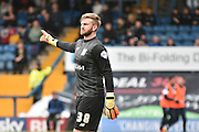 Bury On loan Goalkeeper, Chris Neal during the Sky Bet League 1 match between Bury and Millwall at the JD Stadium, Bury, England on 23 April 2016. Photo by Mark Pollitt.