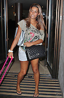 LONDON - September 06: Chantelle Tagoe at the Mayfair Hotel (Photo by Brett D. Cove)