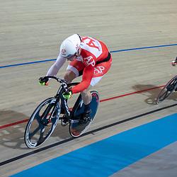 30-12-2018: Wielrennen: NK Baan: Apeldoorn<br />Jeffrey Hoogland plaats zich met Sam Ligtlee voorr de halve finale keirin