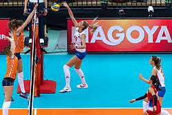 11-10-2018 JPN: World Championship Volleyball Women day 12, Nagoya<br /> Netherlands - Serbia 3-0 / Jovana Stevanovic #15 of Serbia