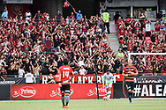 February 12, 2017: Big Western Sydney Wanderers crowd at Round 19 of the 2017 Hyundai A-League match, between Western Sydney Wanderers and Central Coast Mariners played at Spotless Stadium in Sydney.