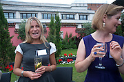 HOLLY JOHNSTONE,  Archant Summer party. Kensington Roof Gardens. London. 7 July 2010. -DO NOT ARCHIVE-© Copyright Photograph by Dafydd Jones. 248 Clapham Rd. London SW9 0PZ. Tel 0207 820 0771. www.dafjones.com.