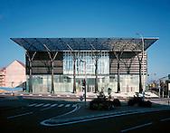 PALAIS DE JUSTICE (COURT HOUSE), MELUN, FRANCE, JOURDA & PERRAUDIN, EXTERIOR, FRONT ELEVATION (1)