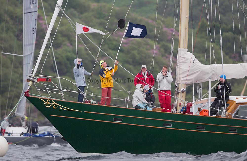 Silvers Marine Scottish Series 2017<br /> Tarbert Loch Fyne - Sailing<br /> <br /> CV Glenafton<br /> <br /> Credit: Marc Turner / CCC