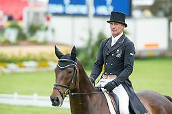 Nicholson Andrew, (NZL), Calico Joe<br /> Dressage <br /> Mitsubishi Motors Badminton Horse Trials - Badminton 2015<br /> © Hippo Foto - Jon Stroud<br /> 08/05/15