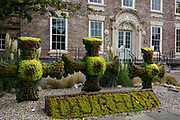 Topiary in the City of Durham, on 24th September, 2017, in Durham, England.