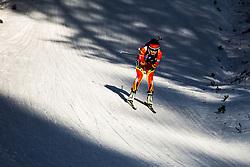 Hongru Chen (CHN) during the Women 15 km Individual Competition at day 2 of IBU Biathlon World Cup 2019/20 Pokljuka, on January 23, 2020 in Rudno polje, Pokljuka, Pokljuka, Slovenia. Photo by Peter Podobnik / Sportida