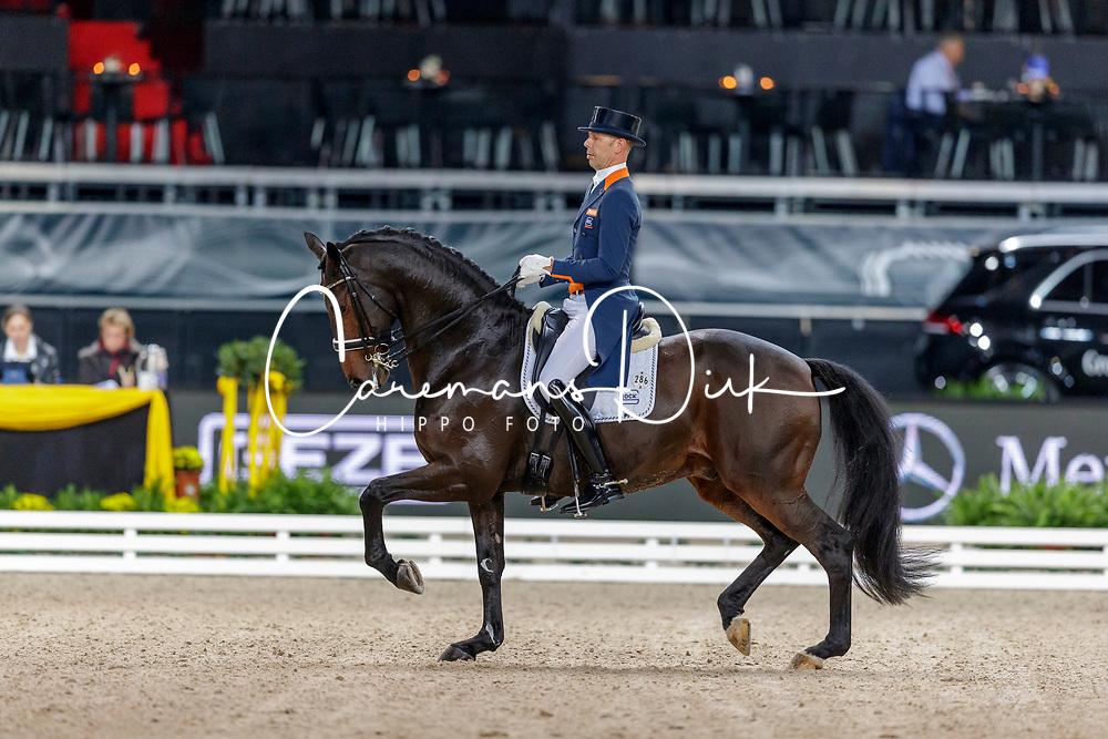 Minderhoud Hans Peter, NED, Glock's Casper<br /> Stuttgart - German Masters 2019<br /> © Hippo Foto - Stefan Lafrentz