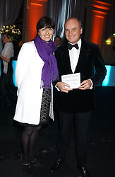 NICHOLAS & GEORGINA COLERIDGE at the Conservative Party's Black & White Ball held at Old Billingsgate, 16 Lower Thames Street, London EC3 on 8th February 2006.<br /><br />NON EXCLUSIVE - WORLD RIGHTS
