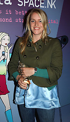 MISS LAURA PARKER BOWLES daughter of HRH the Duchess of Cornwall at a party to promote the Kiss It Better campaign for the Great Ormond Street Hospital in association with Stila and Space.NK held at Frankie's, Yeoman's Row, London on 31st May 2005.<br />