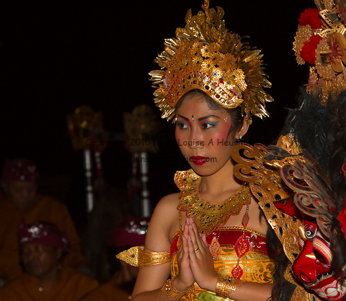Balinese Dancer in traditional costume