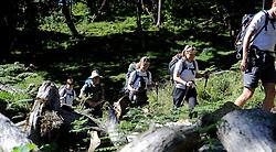 13-10-2008 REPORTAGE: KILIMANJARO CHALLENGE 2008: TANZANIA <br /> Van Mariakamba Huts (2514m) naar Saddle Huts (3570m). De Kilimanjaro Challenge van de BvdGf.<br /> &copy;2008-FotoHoogendoorn.nl