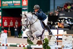 EL DAHAN Sameh (EGY), WKD Ecxotic<br /> Leipzig - Partner Pferd 2019<br /> Eröffnungsspringen<br /> 17. Januar 2019<br /> © www.sportfotos-lafrentz.de/Stefan Lafrentz