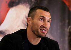 London- Wladimir Klitschko Press Conference